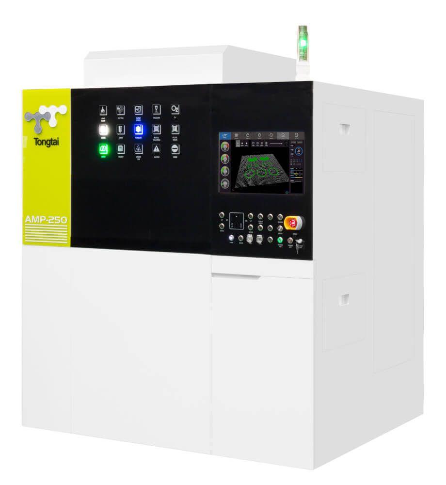 Machine de fabrication additive utilisant la technologie fusion laser sur lit de poudre Tongtai AMP-250