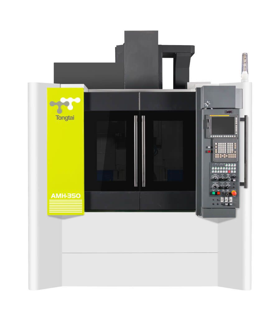 Machine de fabrication additive hybride DED type dépot de matière et usinage Tongtai AMH-350