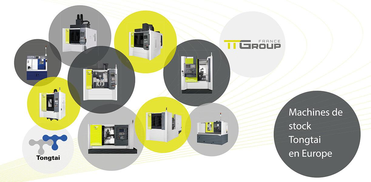Promotion sur le stock de machines européen Tongtai