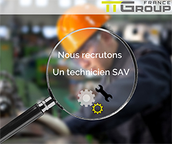 Recrutement Technicien chez TTGroup France