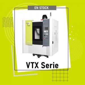 Stock de centres de perçage/taraudage Tongtai Série VTX
